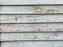 Cracked Paint Texture Siding Stock Photography
