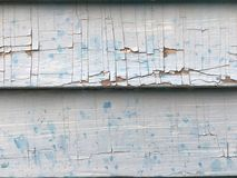 Cracked Paint Texture Siding Stock Image