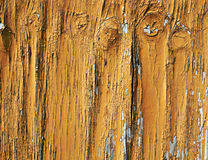 Cracked Paint on Wood Stock Photo