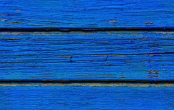 Cracked paint on wood Stock Images