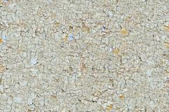 Cracked paint on wood panel Stock Images