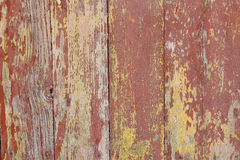 Cracked paint on a wooden door Royalty Free Stock Image