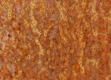 Cracked painted old metal texture. Rusted surface Royalty Free Stock Photo