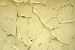 Cracked painted surface. Texture background Stock Images