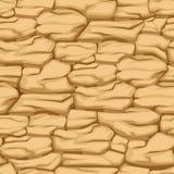 Cracked pattern earth, seamless texture desert soil Royalty Free Stock Photos