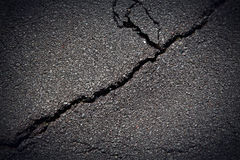 Cracked Pavement Stock Images