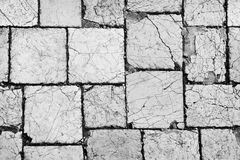 Cracked pavement textures grunge retro. Cracked pavement texture grunge retro Royalty Free Stock Image