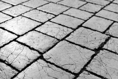 Cracked pavement textures grunge retro. Cracked pavement texture grunge retro Royalty Free Stock Photography