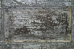 Cracked Peeling Paint.  Stock Photos