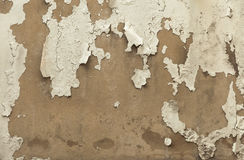 Cracked peeling wall background. Texture Stock Photography