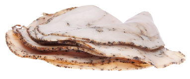 Cracked Pepper Turkey Lunch Meat Stock Photography