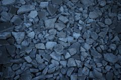 Broken stone and mortar royalty free stock photography