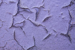 Cracked pink paint Stock Image