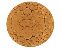 Cracked planet Royalty Free Stock Photo