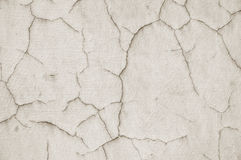 Cracked plaster Stock Photos