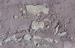 Cracked plaster paint wall Royalty Free Stock Photography
