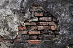 Cracked plaster wall Stock Photography