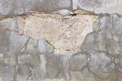 Cracked plaster Stock Photography