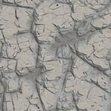 Cracked Plaster Wall. Seamless Tileable Texture. Royalty Free Stock Images