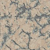 Cracked Plaster Wall. Seamless Tileable Texture. Stock Photos
