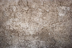 Cracked plaster on wall Stock Photography