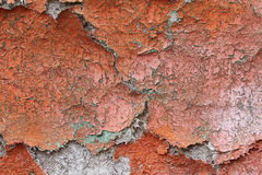 Cracked plywood surface Stock Images
