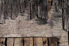 Cracked plywood texture Royalty Free Stock Images