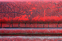 Cracked red paint on grunge metal surface - macro 13 stock photos