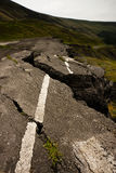 Cracked Road Royalty Free Stock Images