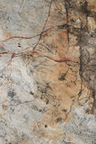 Cracked rock background Stock Photography