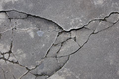 Cracked rock texture Stock Photo