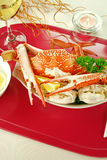 Cracked Crab Stock Image