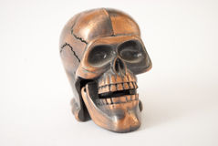 Cracked skull Royalty Free Stock Image