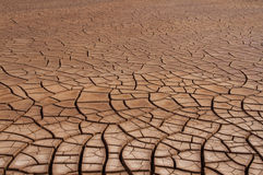 Cracked Soil Drought Stock Photography