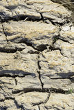 Cracked soil by the drought. TAUBATE, SP, BRAZIL - JULY 2, 2016 - Cracked soil by the drought stock images