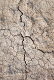 Cracked soil. Royalty Free Stock Photography
