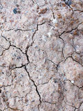 Cracked soil. Dryness of the ground in Thailand Royalty Free Stock Photos