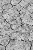 Cracked soil ground Stock Image