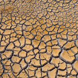 Cracked soil ground Stock Photography