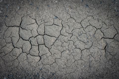 Cracked soil land Stock Photos