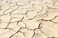 Cracked soil Stock Photo