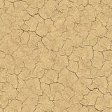 Cracked Soil. Seamless Texture. Stock Photo