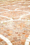 cracked  step   brick in  italy old  and   material the backgro Royalty Free Stock Image