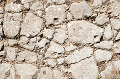 Cracked stone Royalty Free Stock Photography