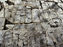 Cracked stone rock in the style of grunge Royalty Free Stock Photos