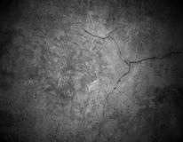 Cracked stone wall background Stock Image