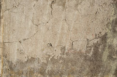 Cracked stone wall texture Stock Images