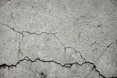 Cracked stone wall Royalty Free Stock Photos