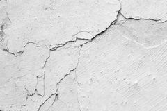 Cracked Stucco Royalty Free Stock Photography