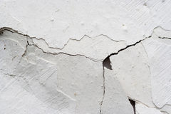Cracked stucco - grunge background Stock Images